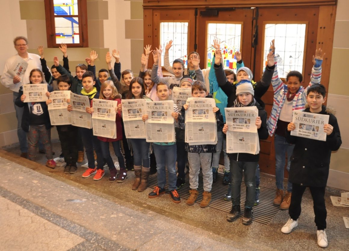 Zeitung trifft Schule